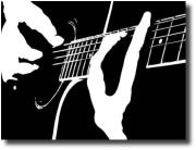 guitarist_bw