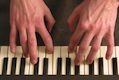 Keyboardist Playing Chords
