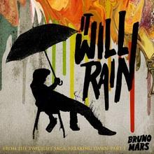 Bruno Mars - It Will Rain