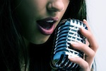 Rock ballad singer