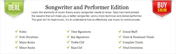Easy Music Theory- Songwriter and Performer Edition