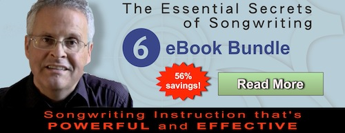"""The Essential Secrets of Songwriting"" 6 eBook Bundle"