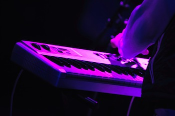 Rock Concert - Purple Synth