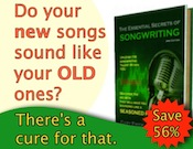 Do your new songs sound like your old ones?