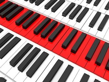Keyboard - Melodic range