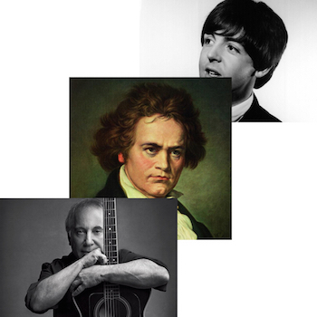 Beethoven - McCartney - Simon