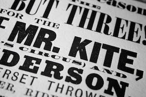 Benefit of Mr. Kite Poster