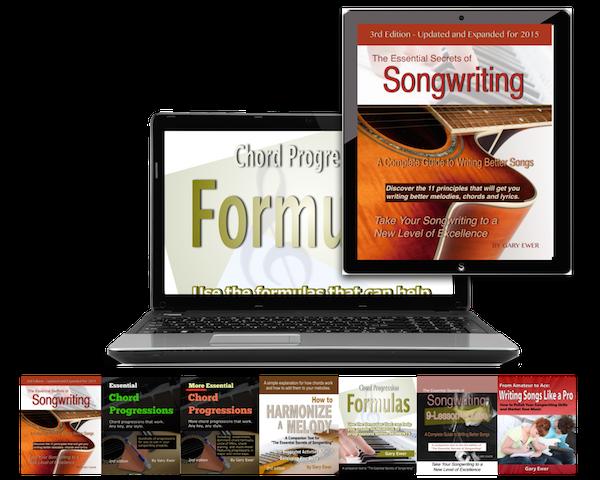 Songwriting eBook Bundle - Gary Ewer