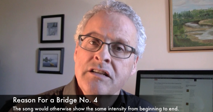 Gary Ewer - 5 Reasons To Include a Bridge In a Song's Design