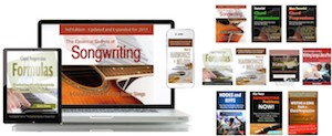 """The Essential Secrets of Songwriting"" eBook Bundle packages"