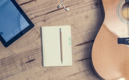 Songwriting student materials