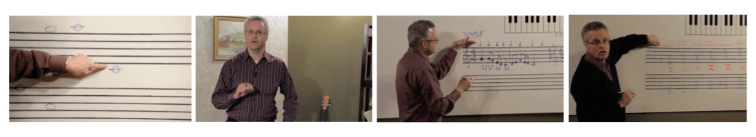 Clips from Easy Music Theory with Gary Ewer