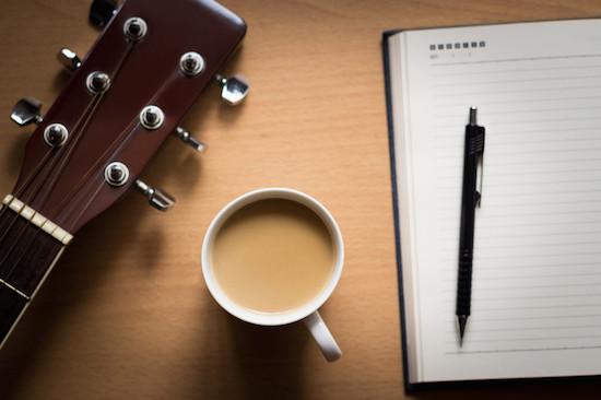 Songwriting, creativity and boredom