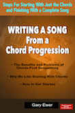 Writing a Song From a Chord Progression