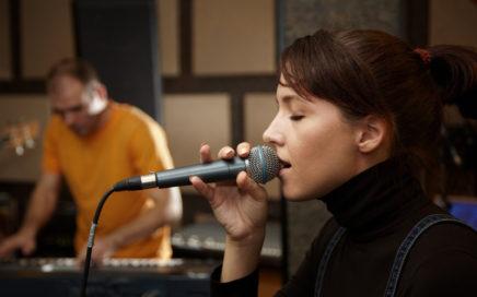 Singer - Band Rehearsal