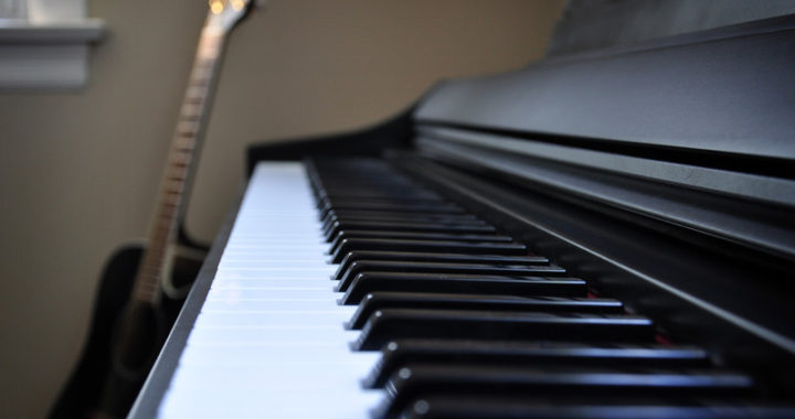 Piano and guitar - songwriting process