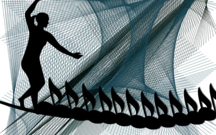 Musical tightrope