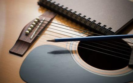 Guitar, Pencil & Paper