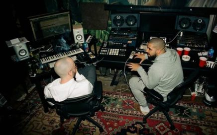 Drake in the studio